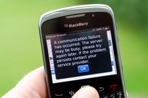 Blackberry problemen