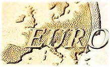 Euro daalt hard