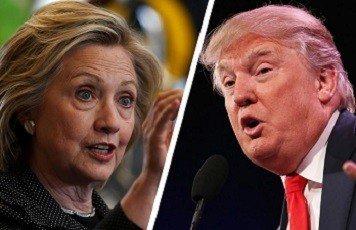 Clinton tegen Trump