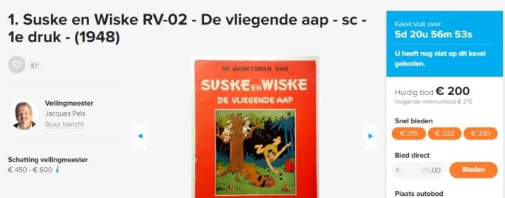 Suske en Wiske belegging