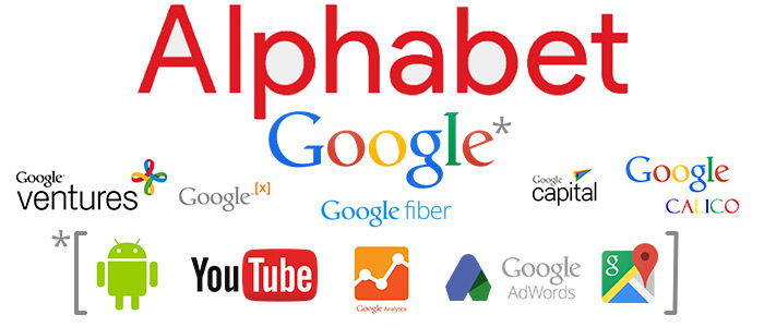 Alphabet dochtermaatschapijen